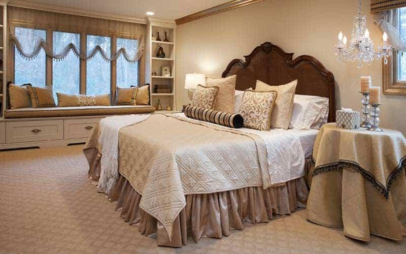 Residential Interior Design: Bedroom Huntington, Long Island, NY
