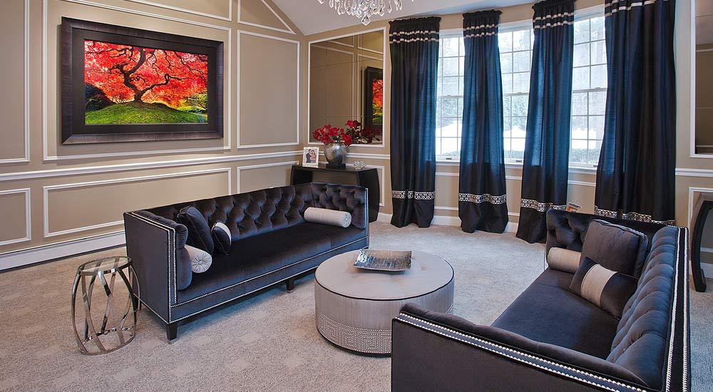Living Room design Brookville Long Island NY