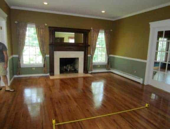 Northport Long Island Living room interior design BEFORE