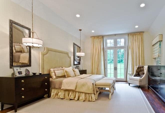 Master Bedroom interior design Old Westbury LI NY 1 After photo