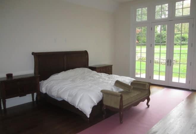 Master Bedroom interior design Old Westbury LI NY 1 BEFORE photo