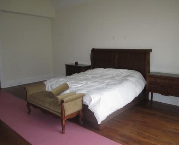 Master Bedroom interior design Old Westbury LI NY Before photo