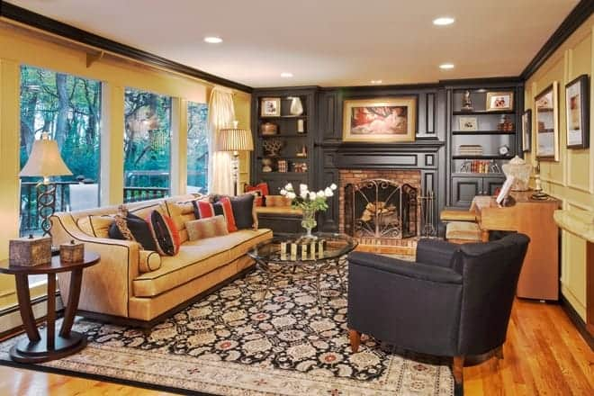 Before and after living rooms interiors by just design - Interior designs of li ...