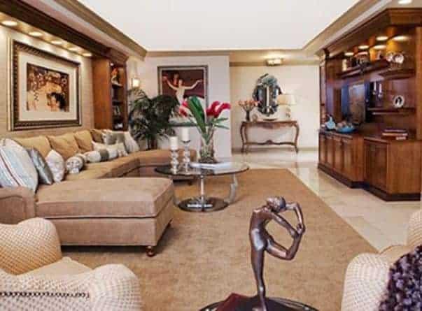 Living room design makeover