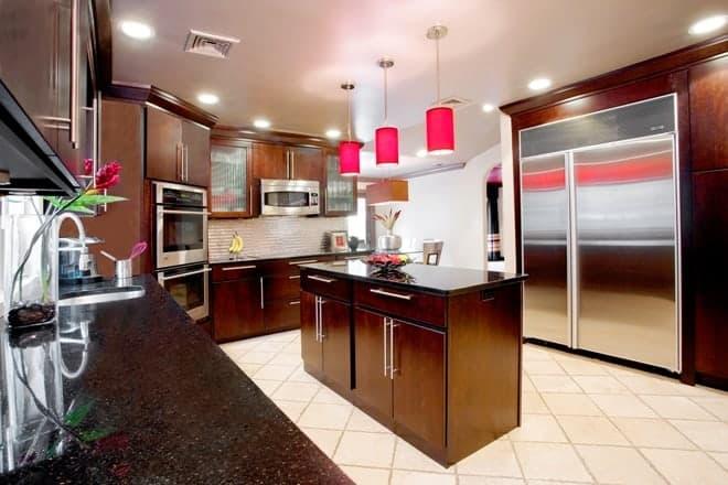 Kitchen design remodel Melville Long Island AFTER photo