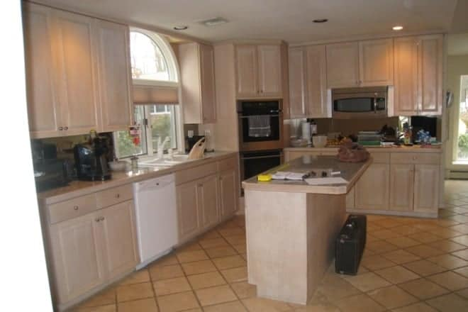 Kitchen design remodel Melville Long Island BEFORE photo