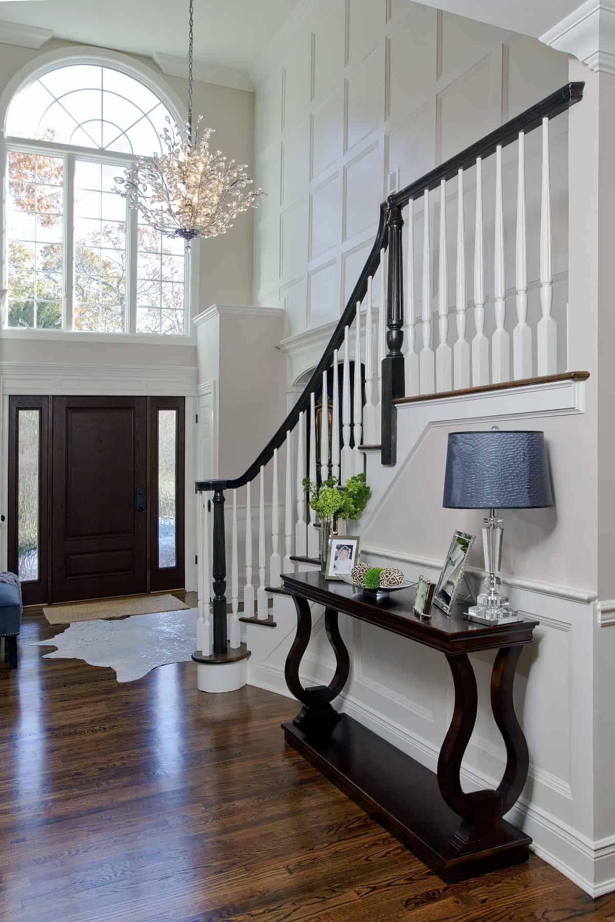 Foyer With Office : Entry foyer interiors by just design