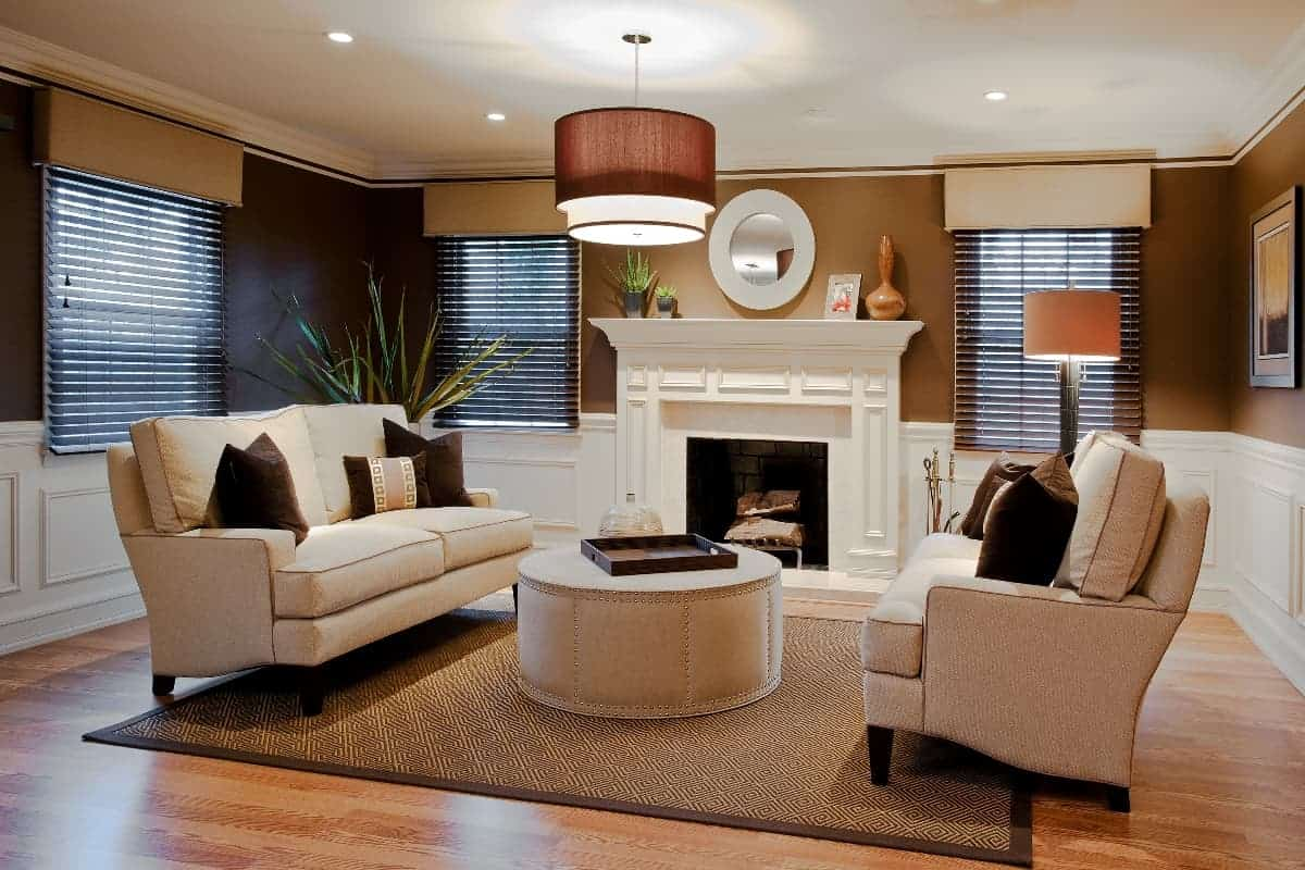 The living room long island for Interior design for long living room