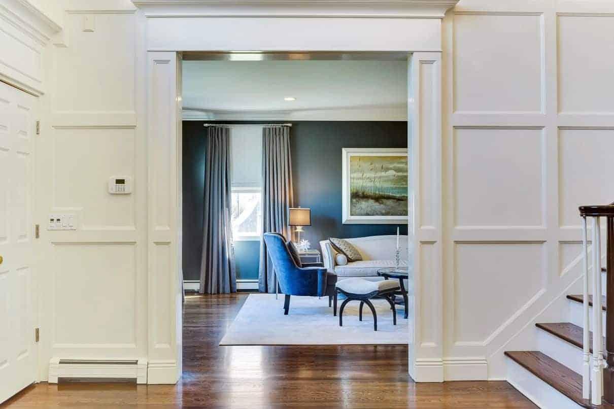 Foyer entrance hallway interior design ideas, Long Island NY