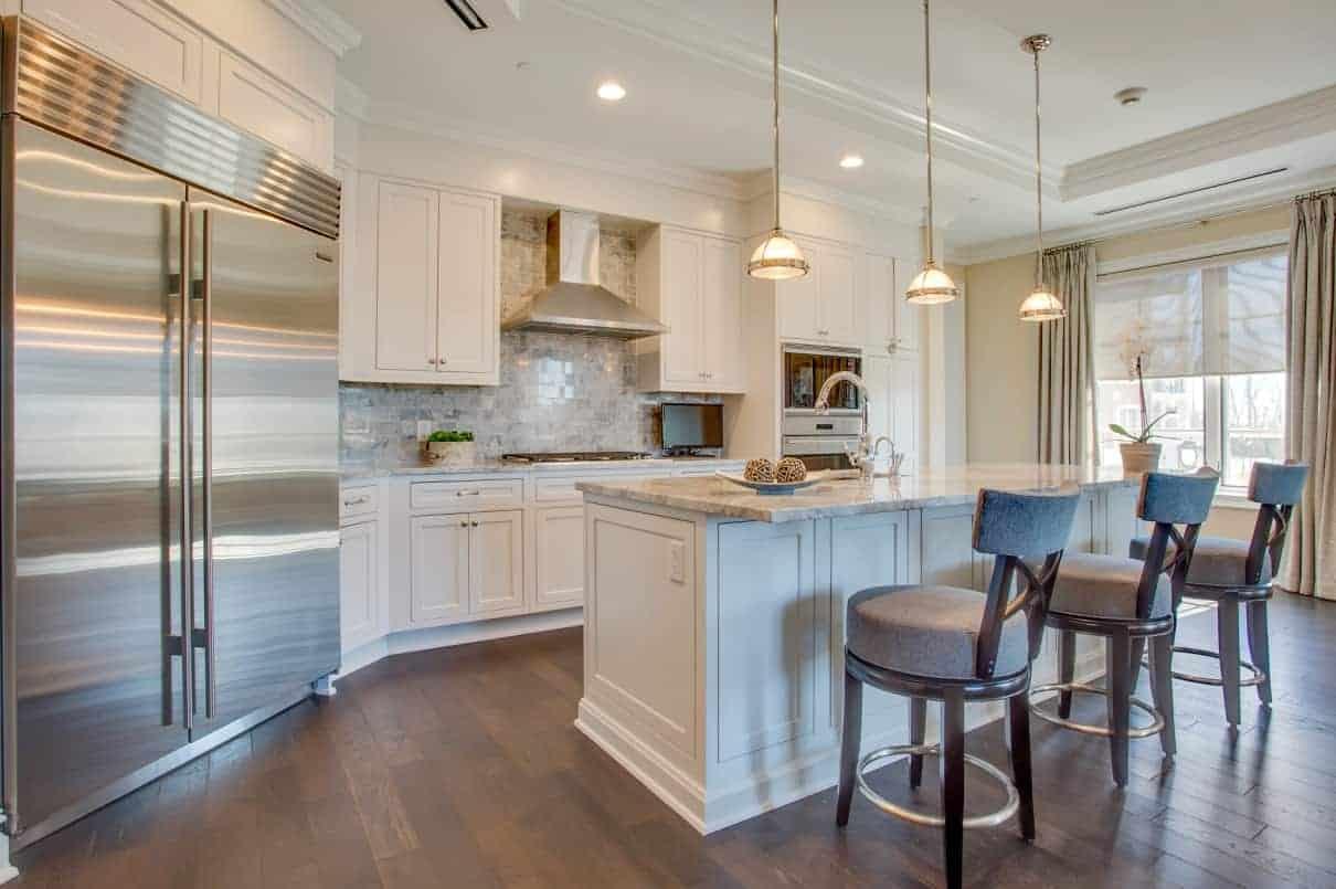 white-kitchen-carrara-marble-interior-design-Long-Island-NY-2017