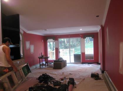 Residential Interior Design: Living Room Dix Hills, Long Island, NY
