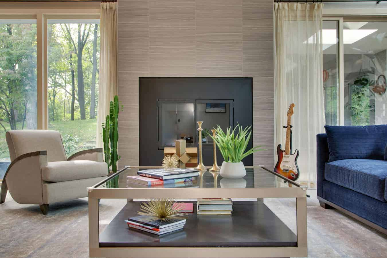 Bauman living room interior design LI