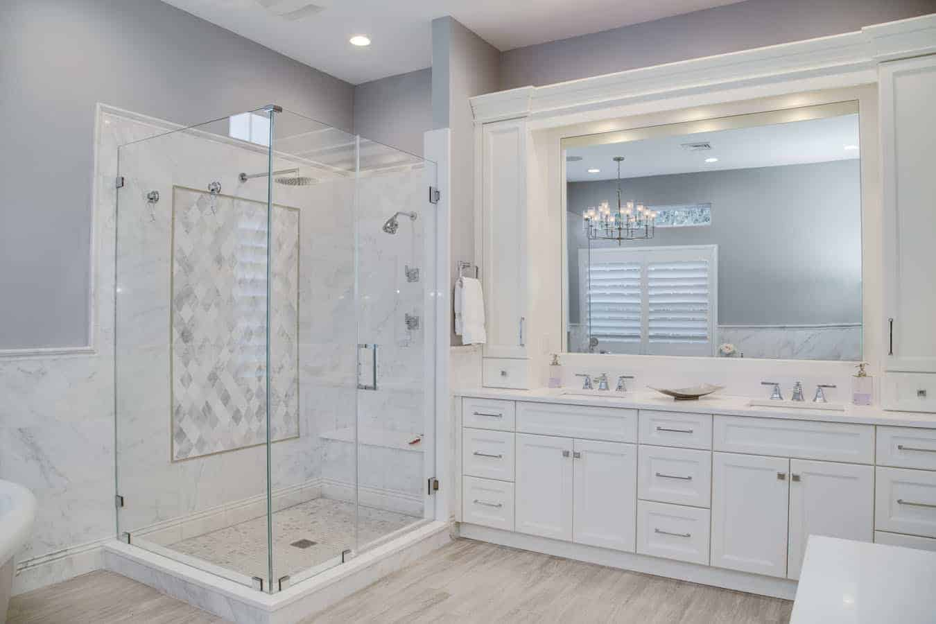 The Villages at Melville Bathroom remodel interior design 3
