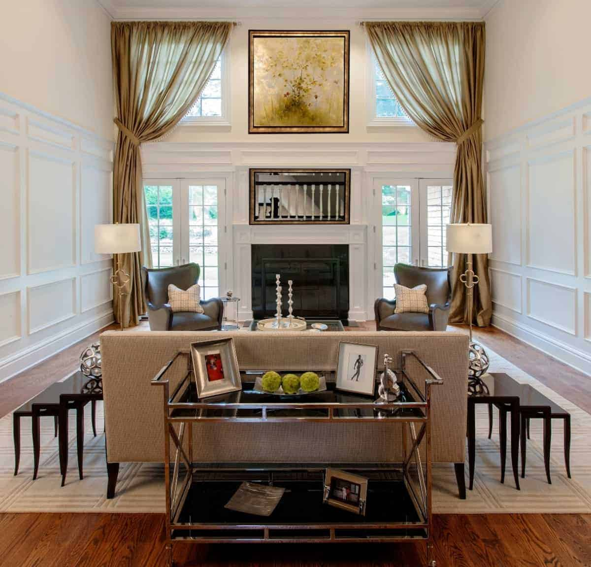Designer Long Island NY Living Room Design