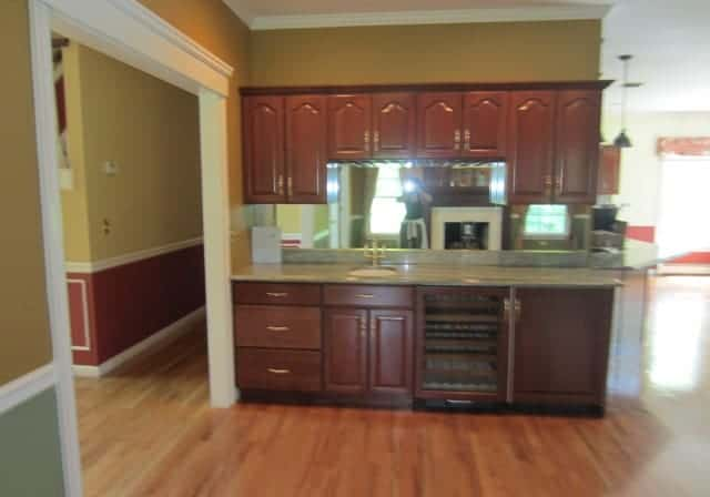Northport Long Island Living room interior design BEFORE
