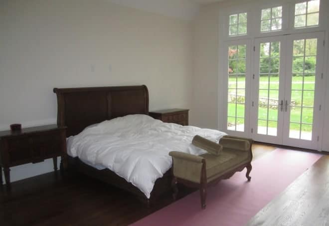 Master Bedroom interior design Old Westbury LI NY 1 BEFORE photo