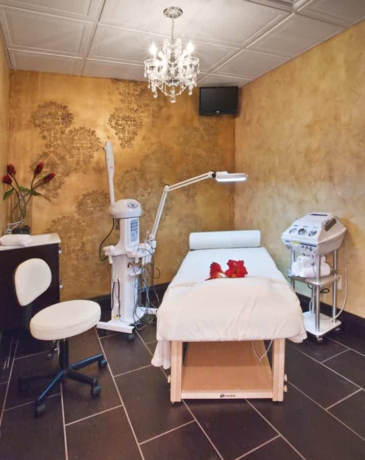 Commerical Interior Design LI NY Spa Patient Treatment Room