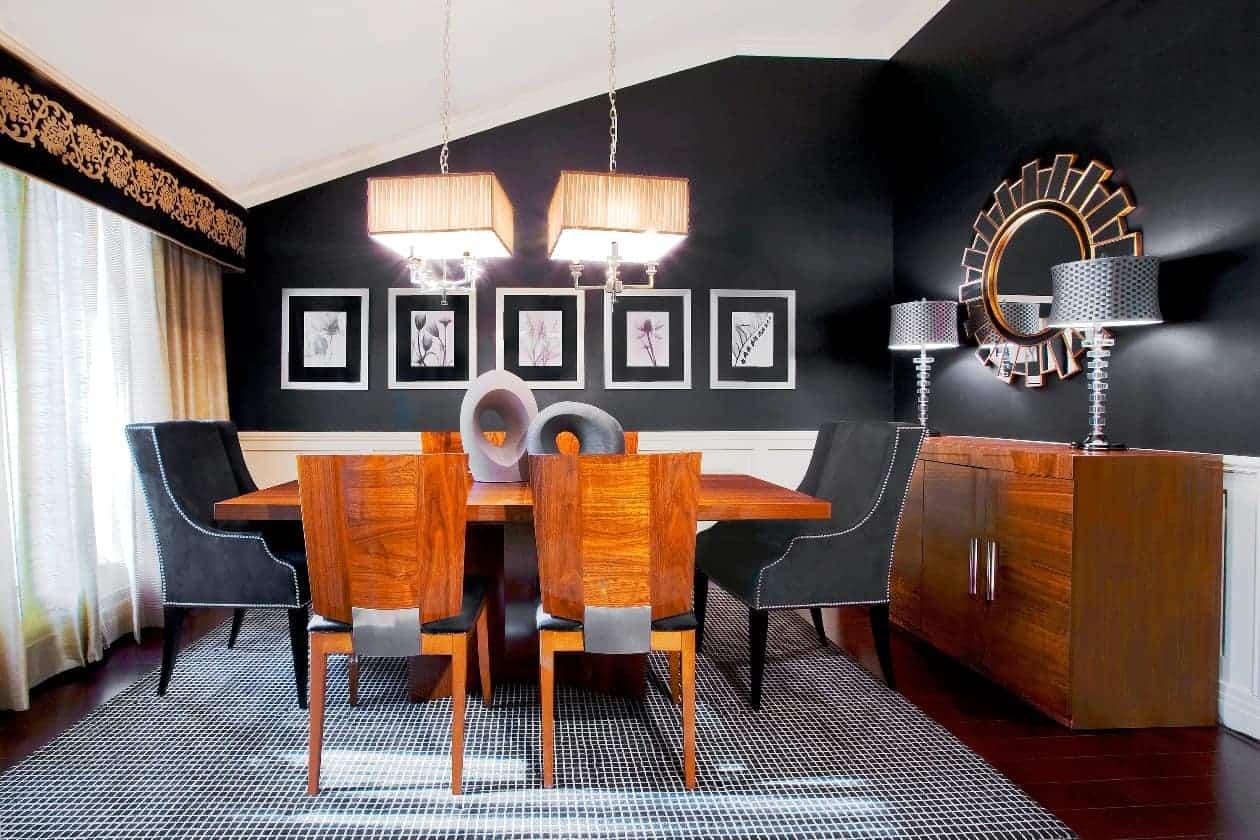 Dining Room Design Interior House Long Island New York