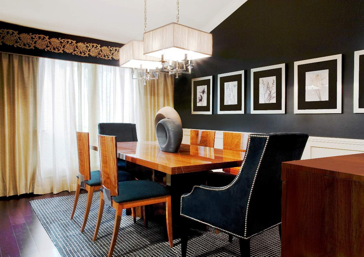 Dining room portfolio interiors by just design