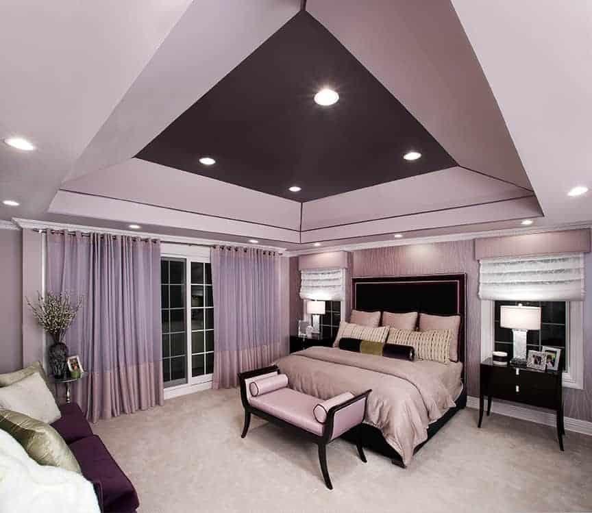 Interior Design master bedroom Roslyn LI NY