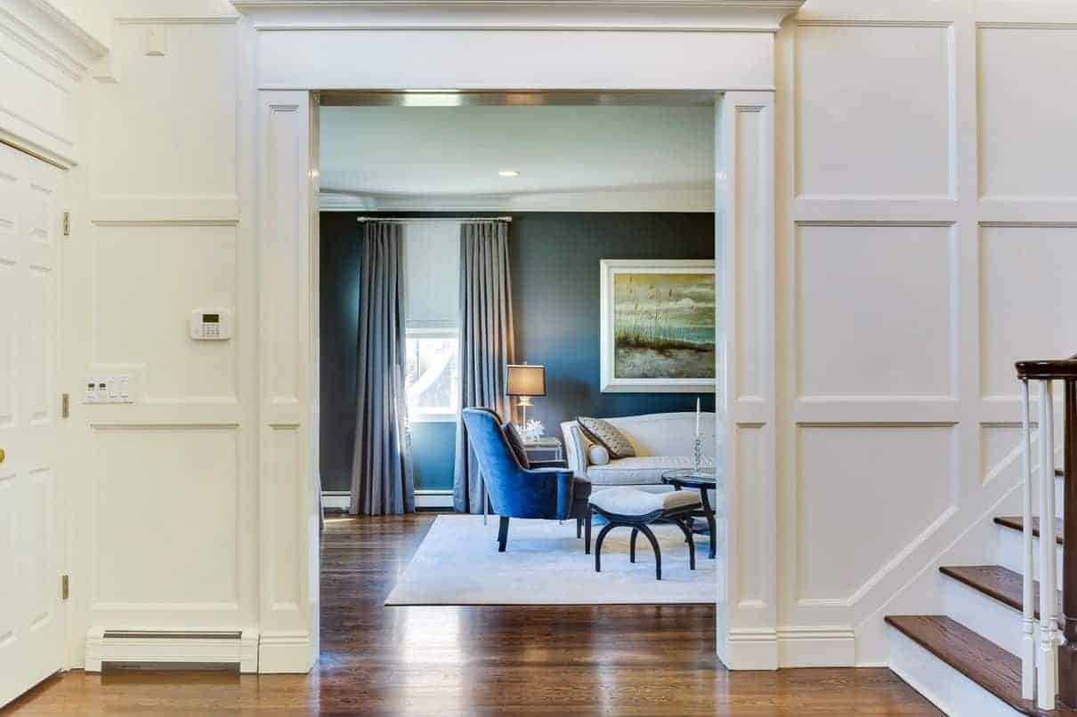 Foyer Home Office : Entry foyer interiors by just design