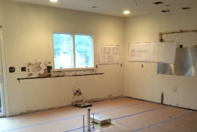 Kitchen remodel BEFORE Long Island NY interior designer
