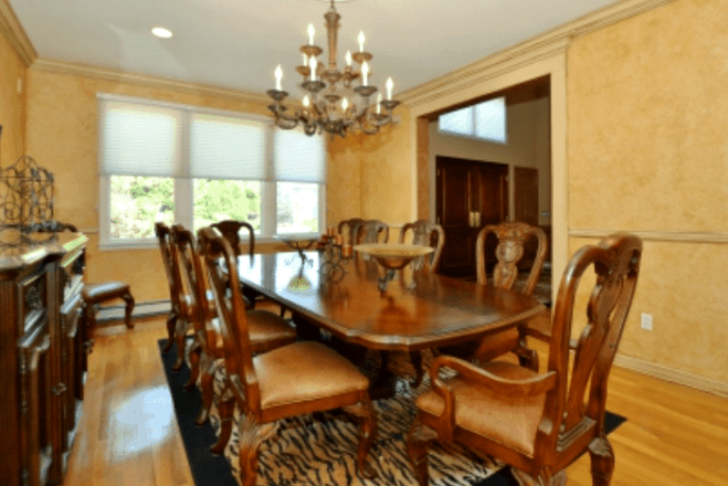 Dining Room Before interior design
