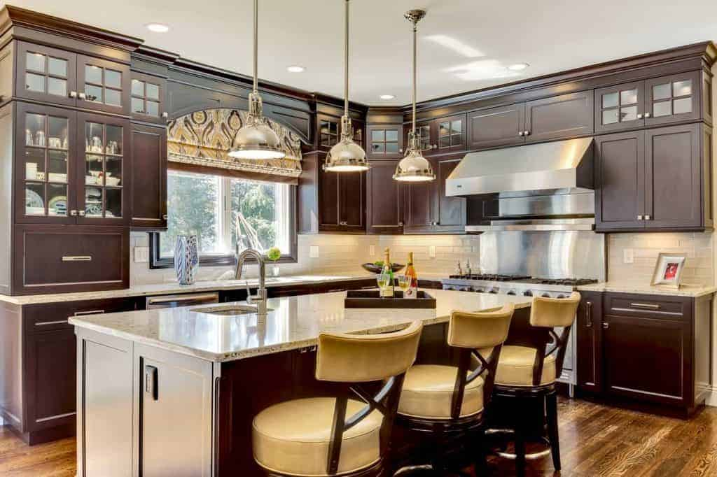 high end kitchen designs modern green house