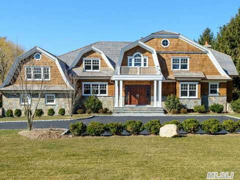 New home built in Old Westbury, Long Island. Interior design by Robyn B of Interiors By Just Design, Inc., Woodbury NY