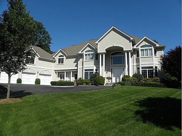 Exterior of home in West Harrison New Jersey.