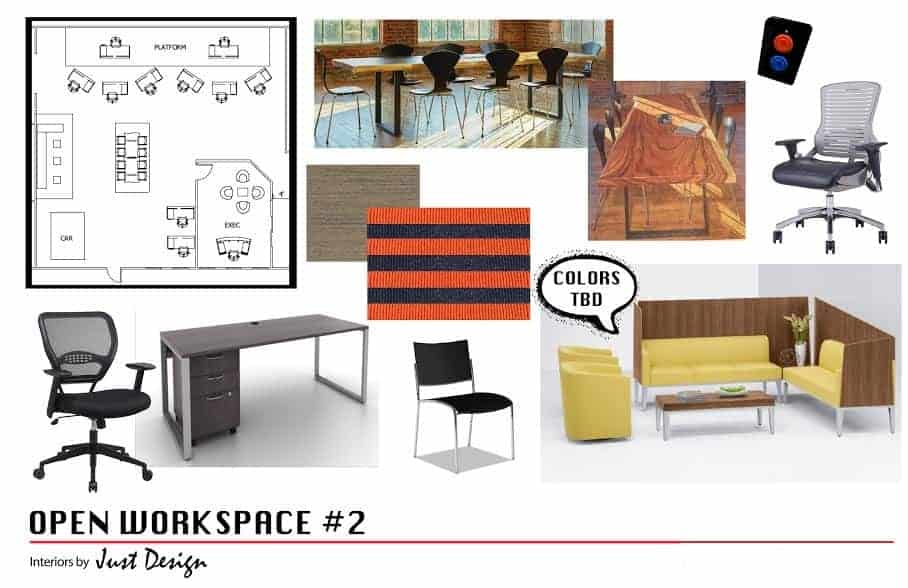 Open Office Workspace Design