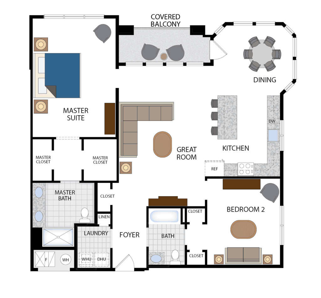 Country Pointe Plainview Condo Floor Plans Interiors By Just Design