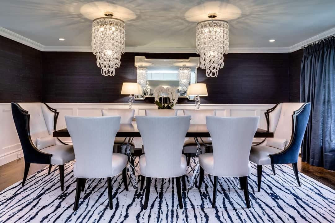 formal dining room design interior designer Long Island LI NY