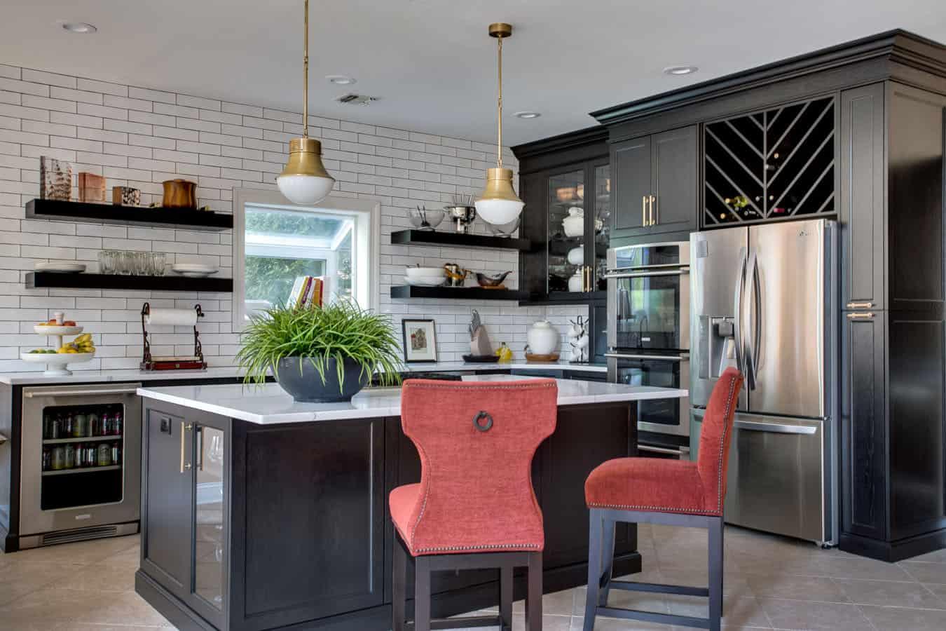 kitchen design photo Long Island LI NY interior designer
