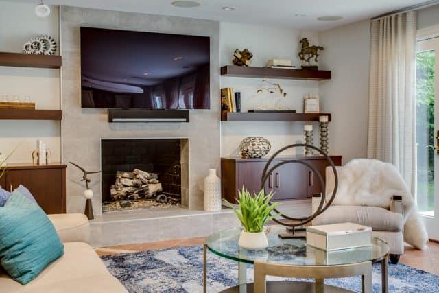Kings Point Family room interior design 1